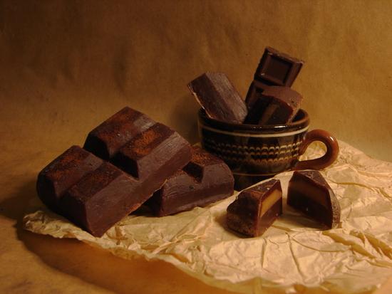 Горький шоколад: состав и калорийность Польза и вред
